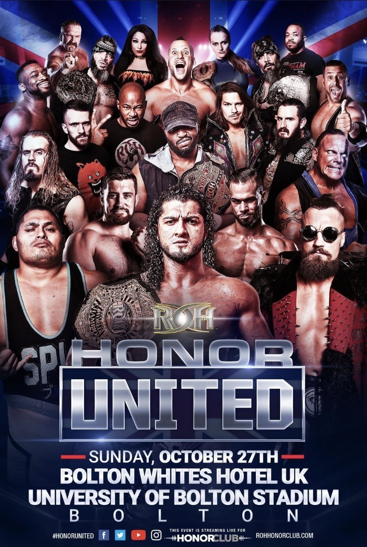 ROH Honor United Tour 2019: Bolton