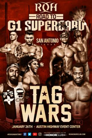 ROH Road to G1 Supercard: Night 3
