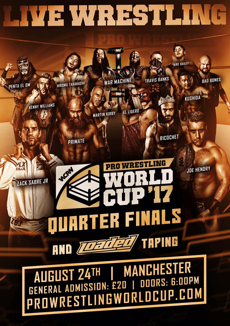 WCPW Pro Wrestling World Cup Finals: Night 2
