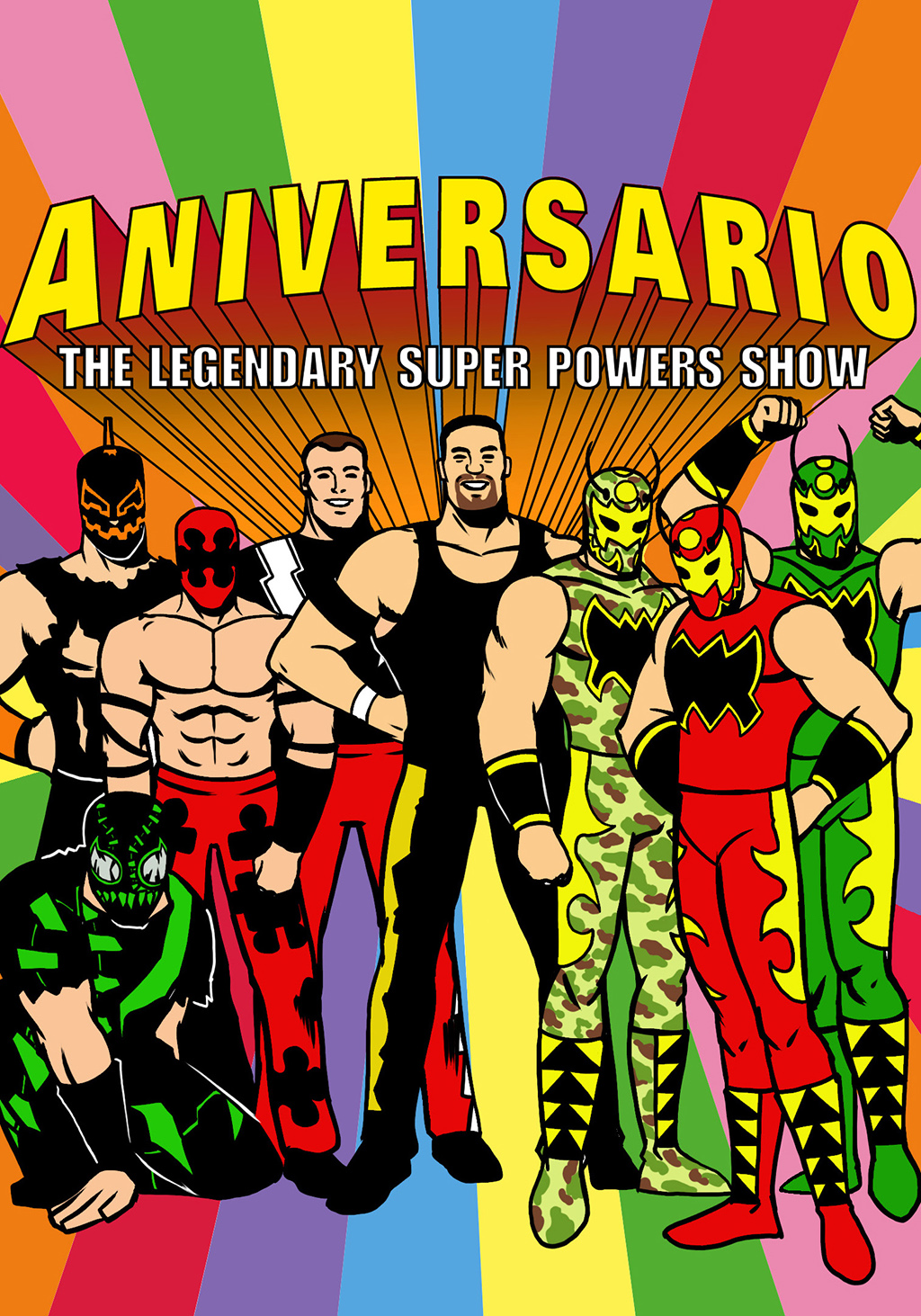 CHIKARA: Anniversario: The Legendary Super Powers Show