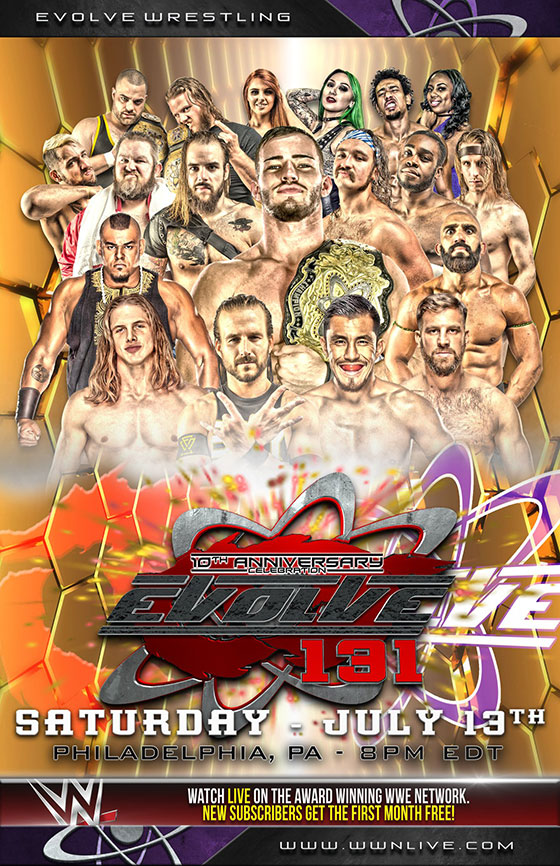EVOLVE 131: 10th Anniversary Special