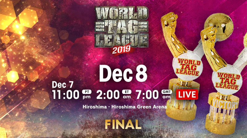 NJPW World Tag League 2019 Finals