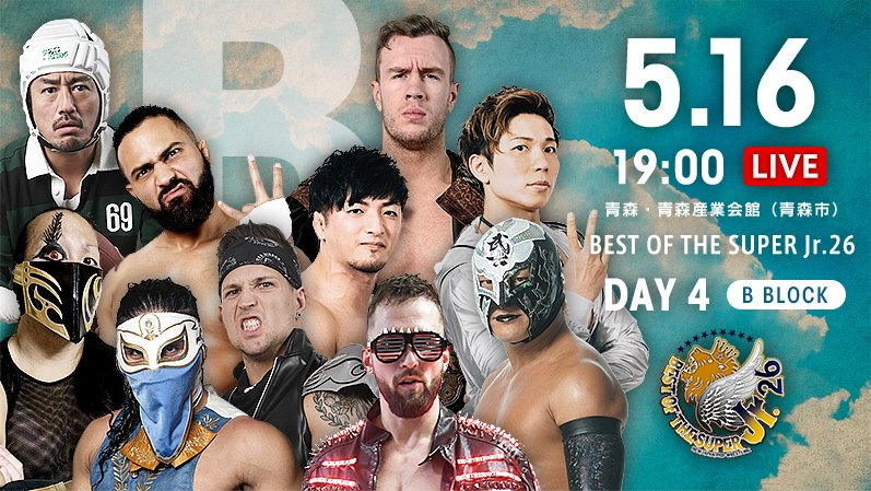 NJPW Best of the Super Jr. 26, 5.16