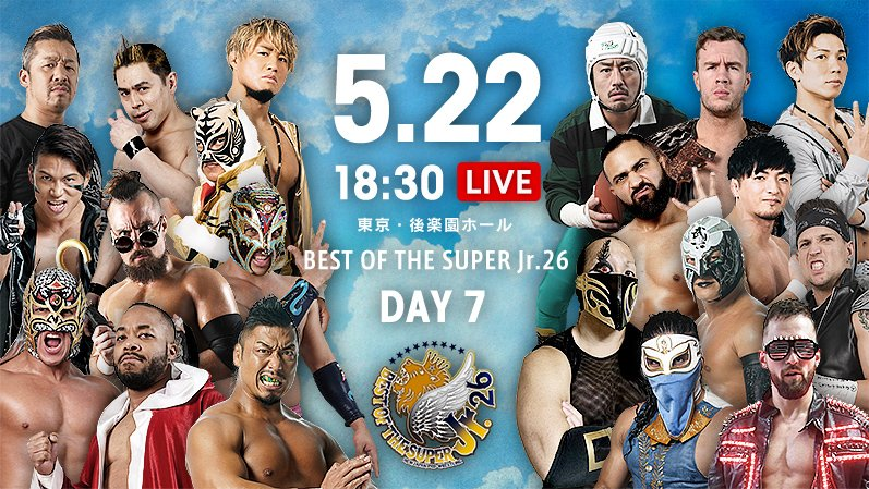 NJPW Best of the Super Jr. 26, 5.22
