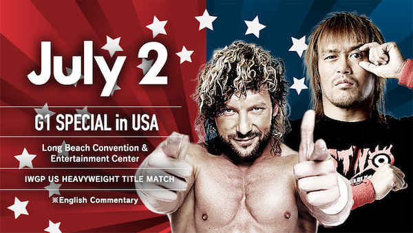 NJPW G1 Special In USA Day 2