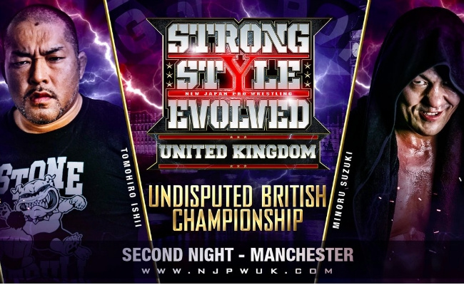 RevPro/NJPW Strong Style Evolved UK: Night 2