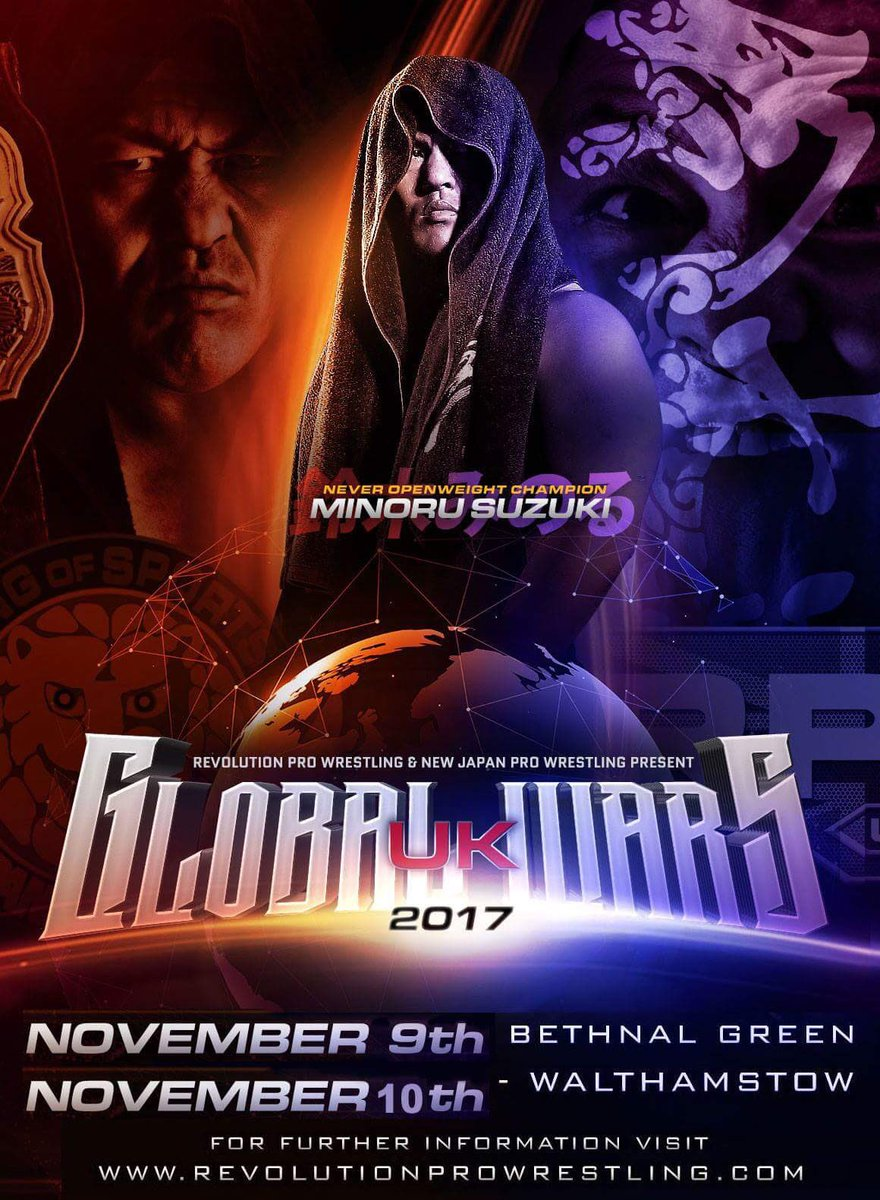 RevPro/NJPW Global Wars UK 2017: Night 1