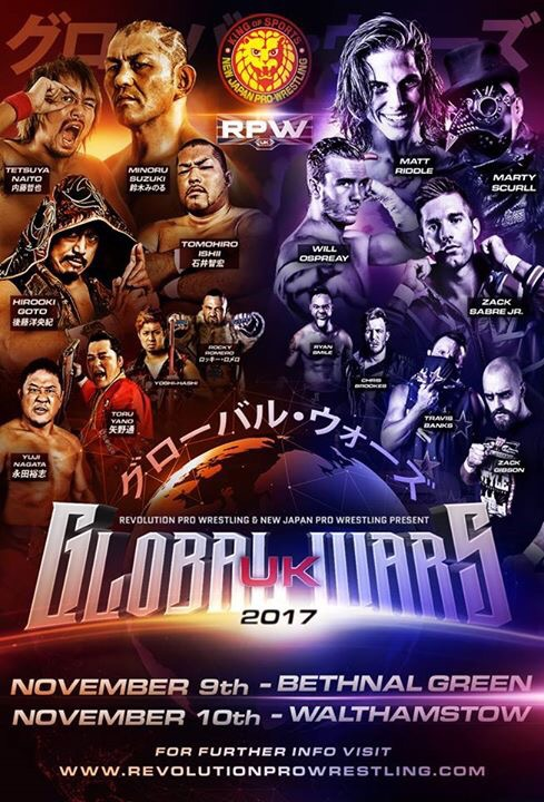 RevPro/NJPW Global Wars UK 2017: Night 2