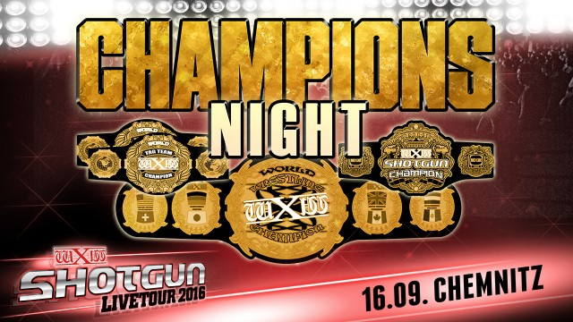 wXw Shotgun Live Tour: Chemnitz- Champions Night