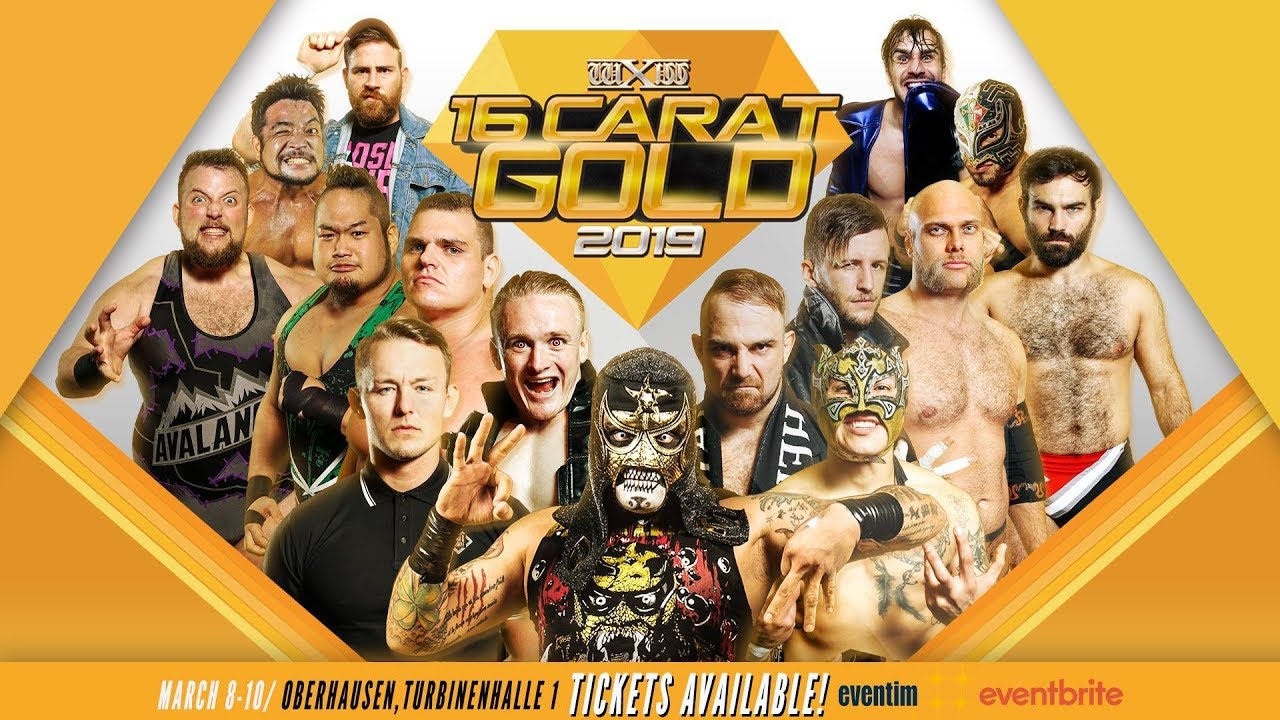 wXw 16 Carat Gold 2019: Night 1