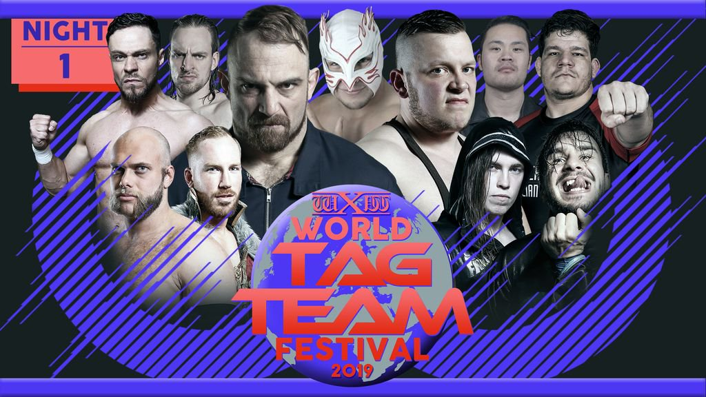 wXw World Tag Team Festival 2019: Night 1